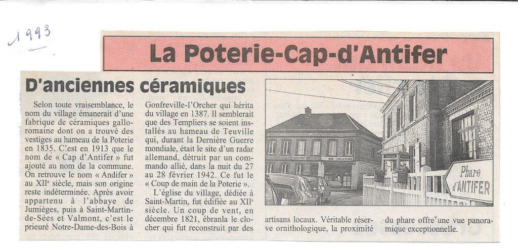 Histoire des communes - La Poterie-Cap-d'Antifer 116