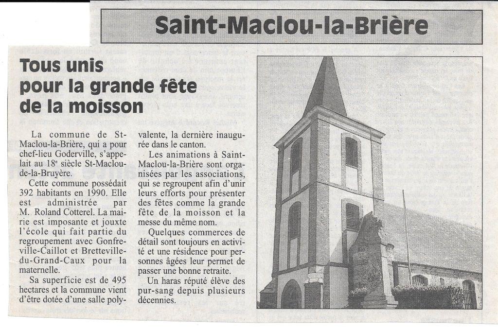 Histoire des communes - Saint-Maclou-la-Brière 118