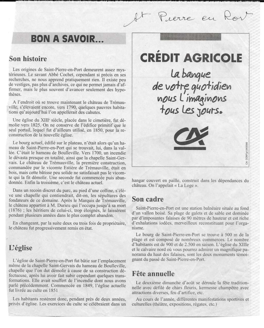 Histoire des communes - Saint-Pierre-en-Port 121