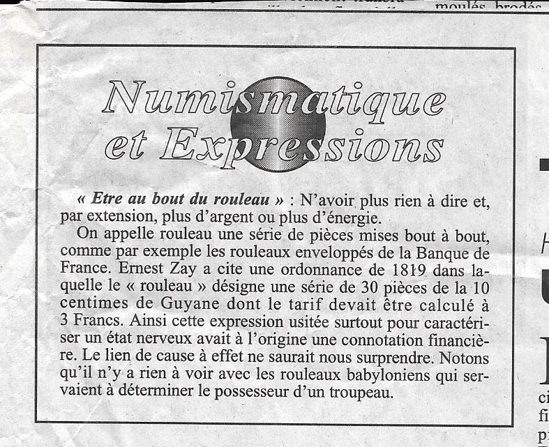 Havre - Histoire de la Monnaie 1210