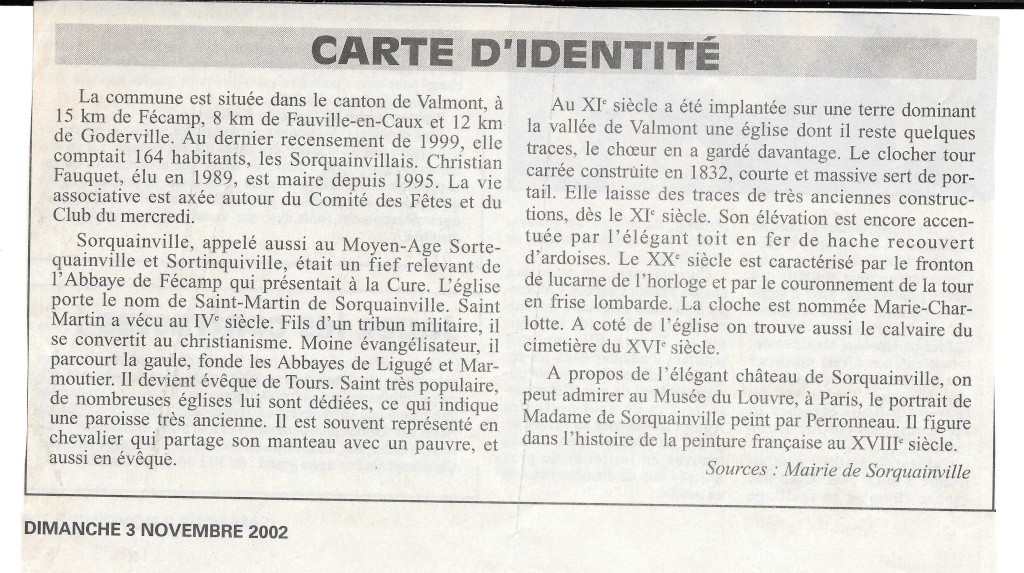 Histoire des communes - Sorquainville 122