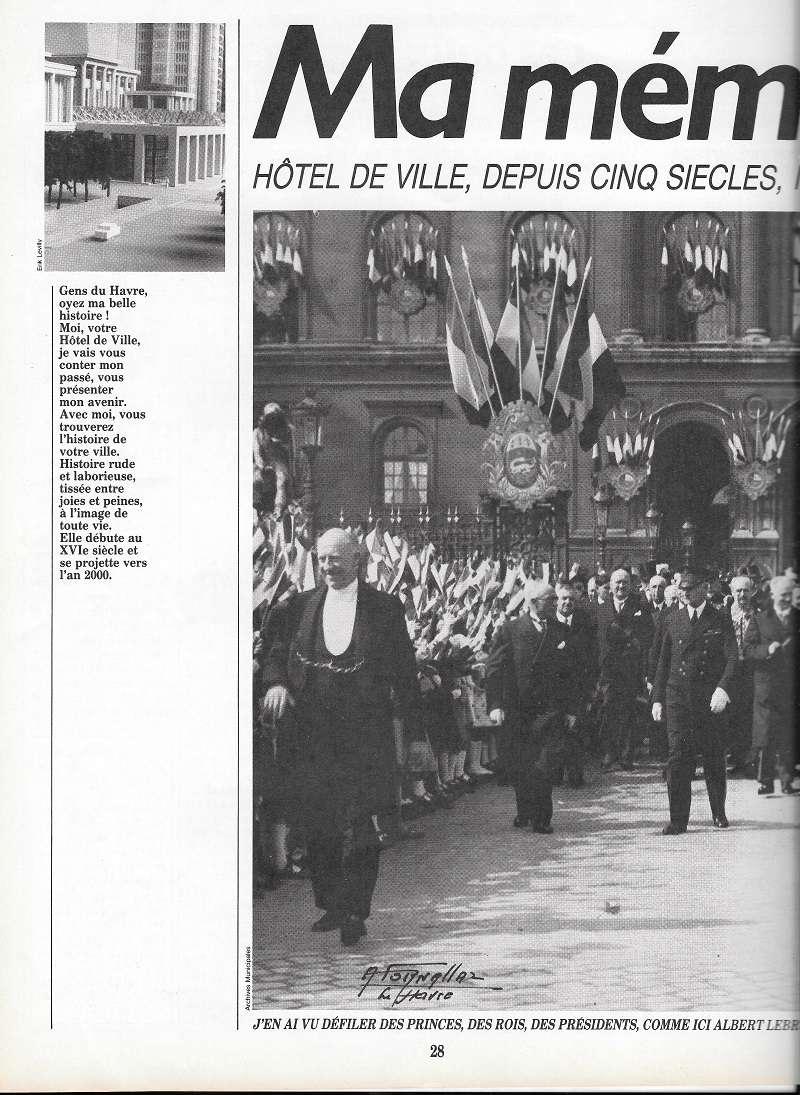 Havre - Les Hôtel-de-Ville du Havre 128