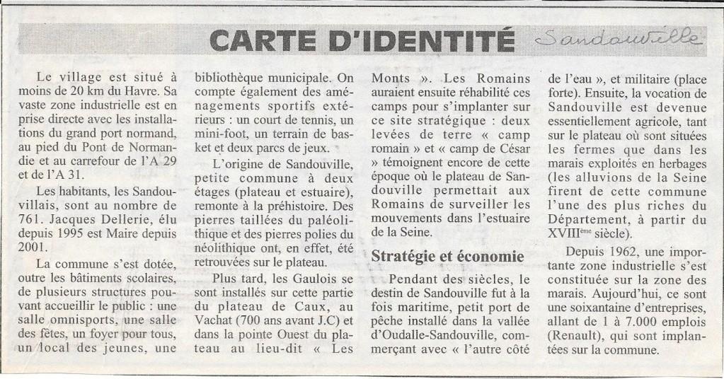 Histoire des communes - Sandouville 130