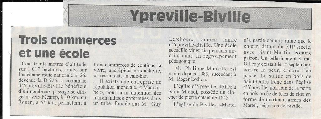 Histoire des communes - Ypreville-Biville 134