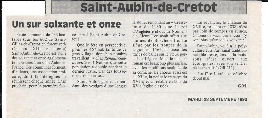 Histoire des communes - Saint-Aubin-de-Cretot 138