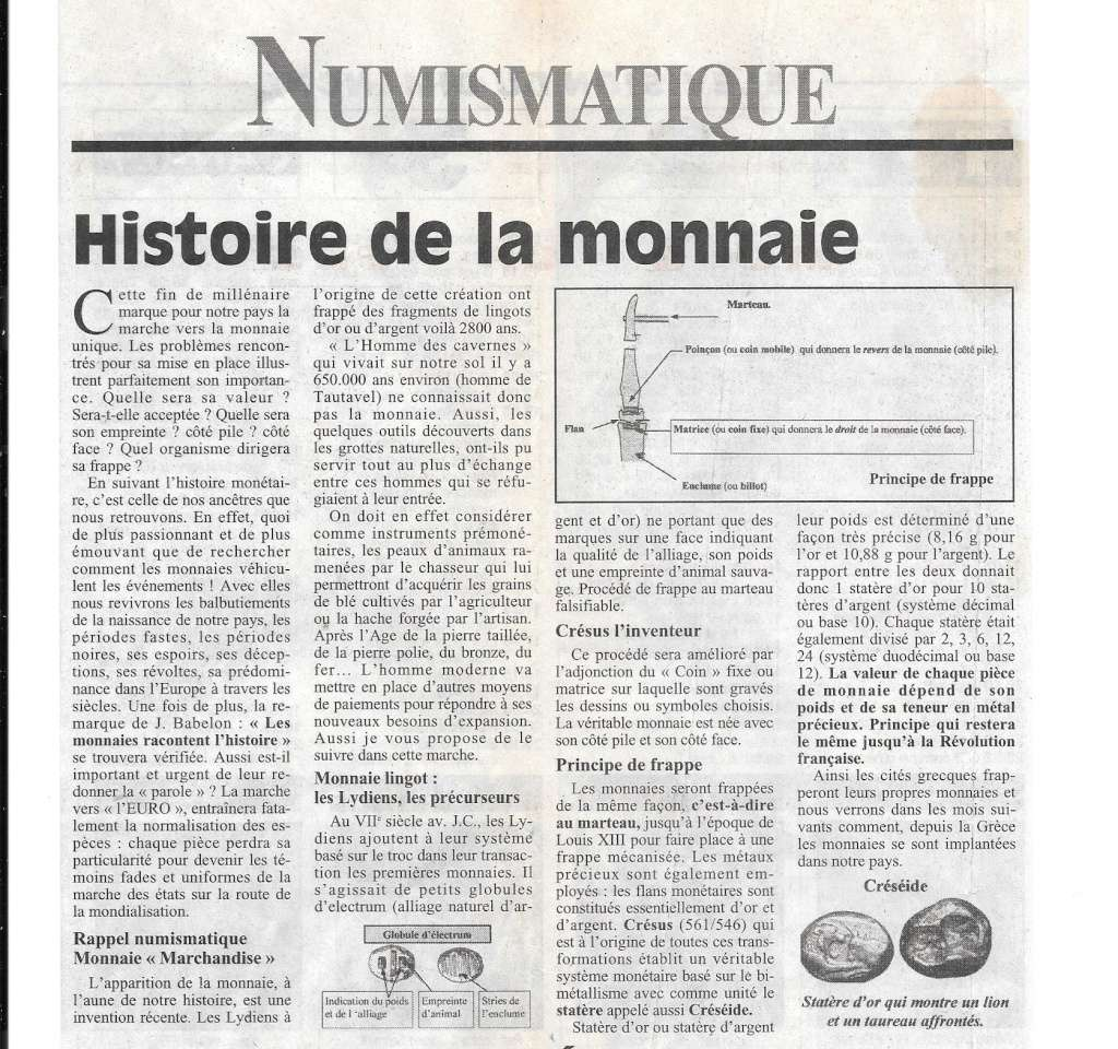 Havre - Histoire de la Monnaie 144