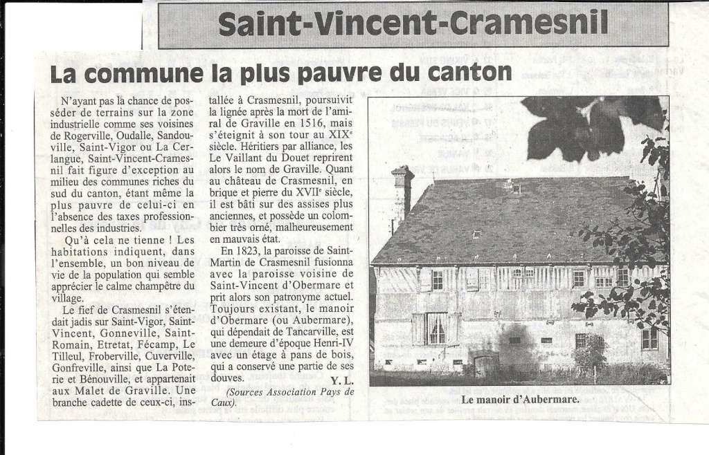 Histoire des communes - Saint-Vincent-Cramesnil 151