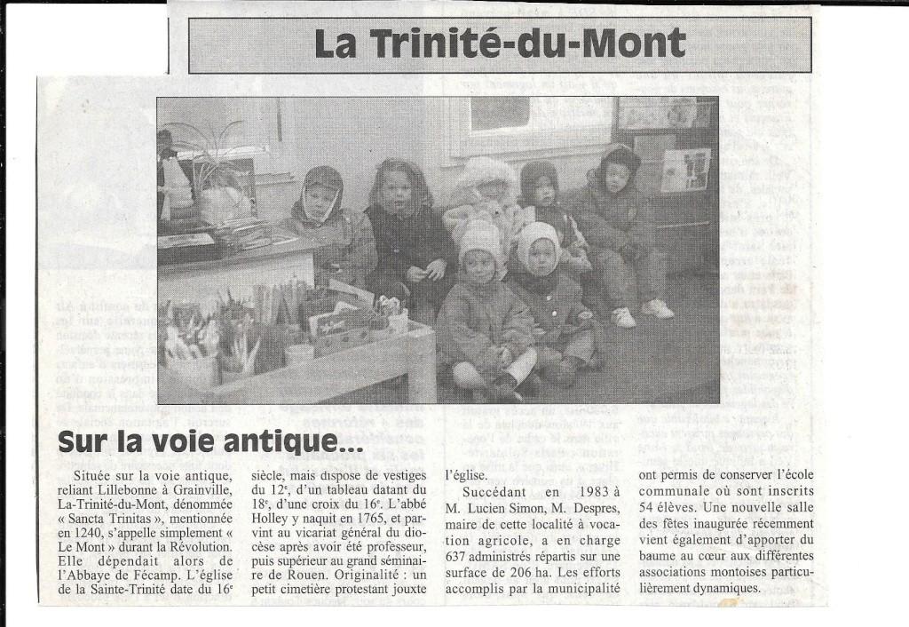 Histoire des communes - La Trinité du Mont 162