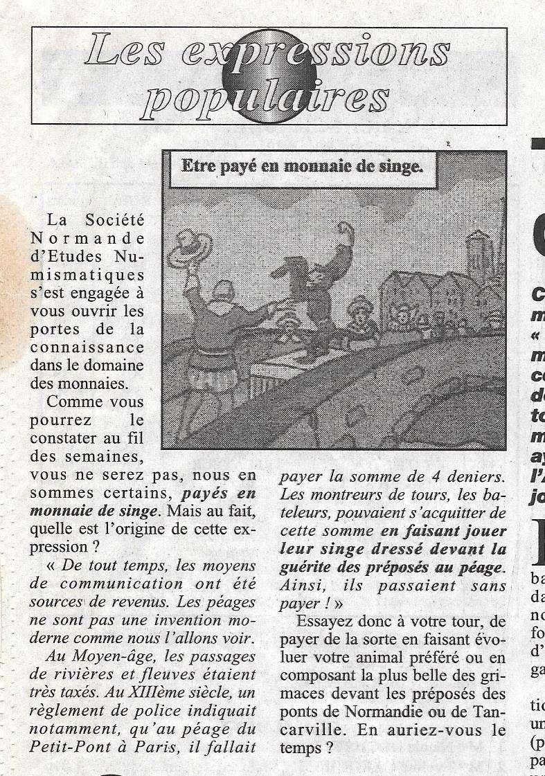 Havre - Histoire de la Monnaie 166
