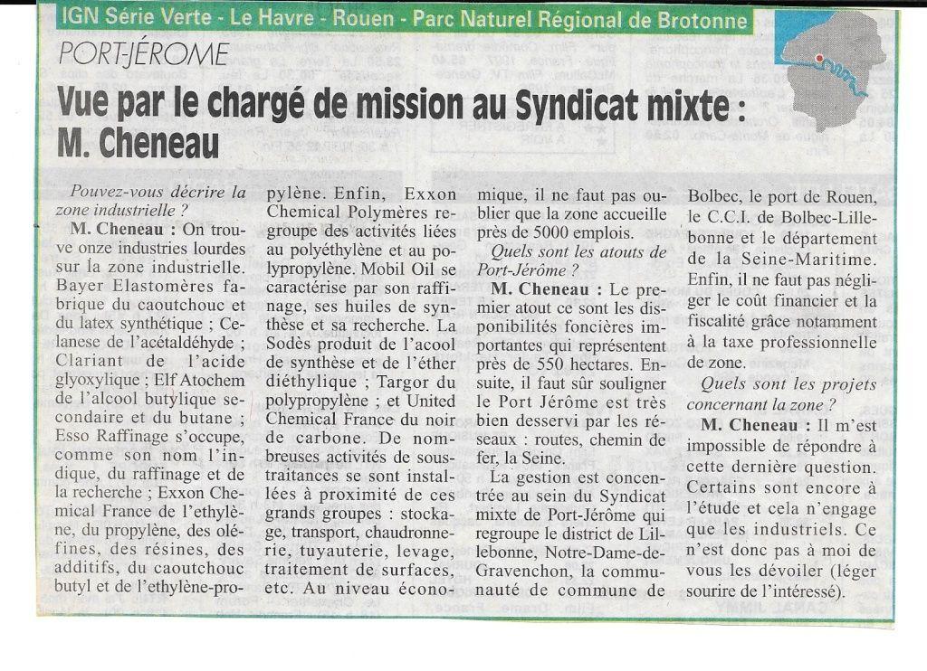 Histoire des communes - Port-Jérôme 167
