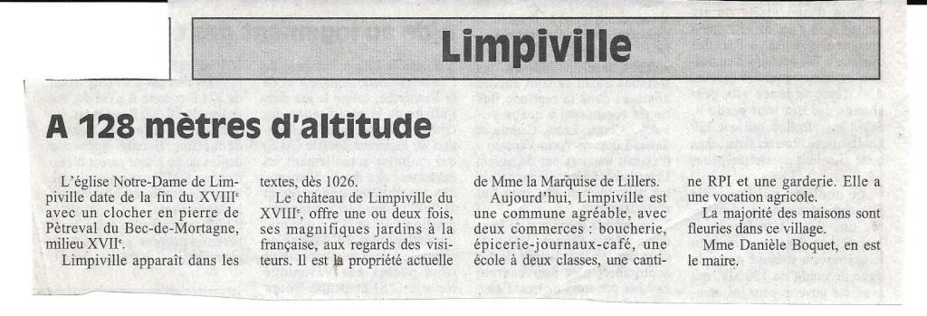 Histoire des communes - Limpiville 180