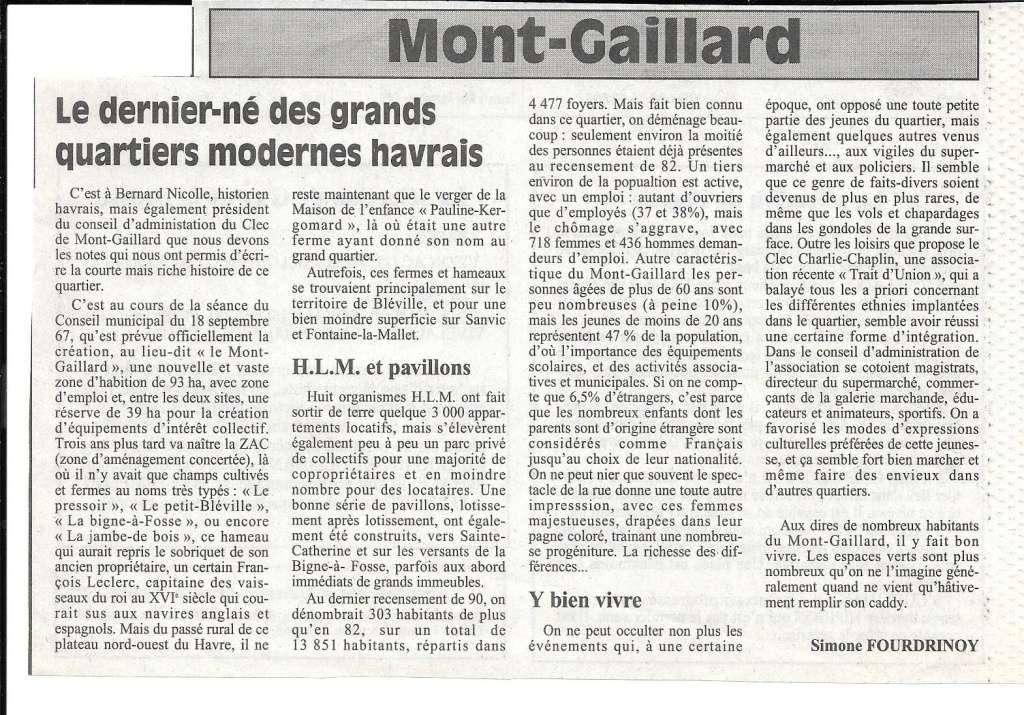 Havre - Le Havre - Mont-Gaillard 182