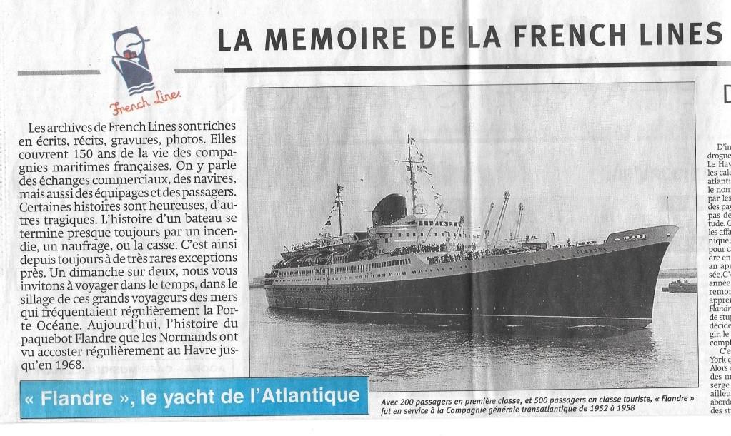 Histoire de bateaux - Le Flandre 184