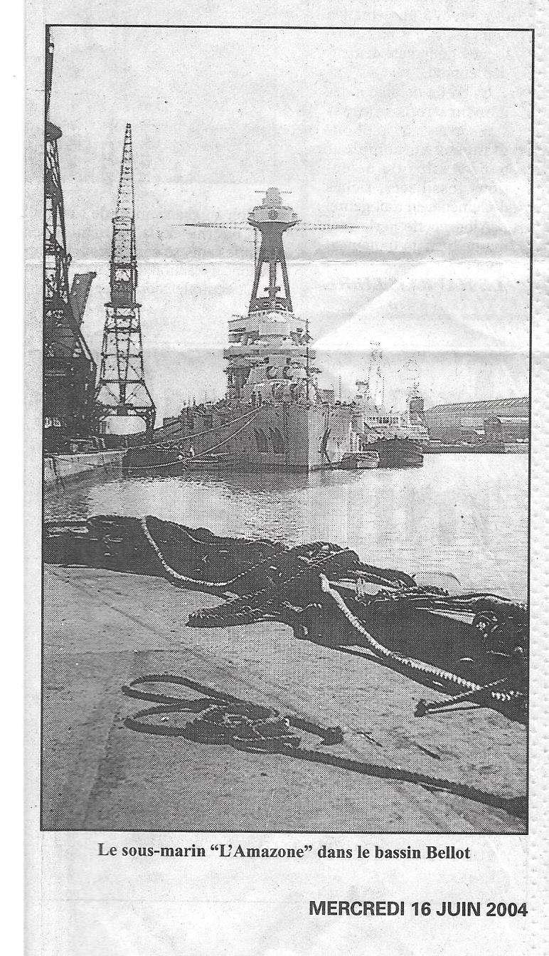 Histoire de bateaux - L'Amazone 190