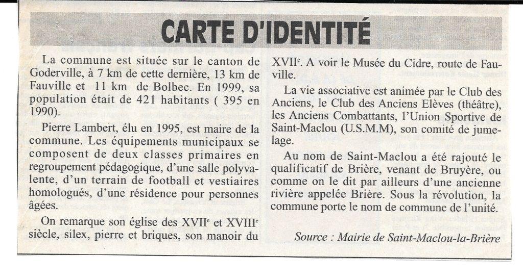 Histoire des communes - Saint-Maclou-la-Brière 215