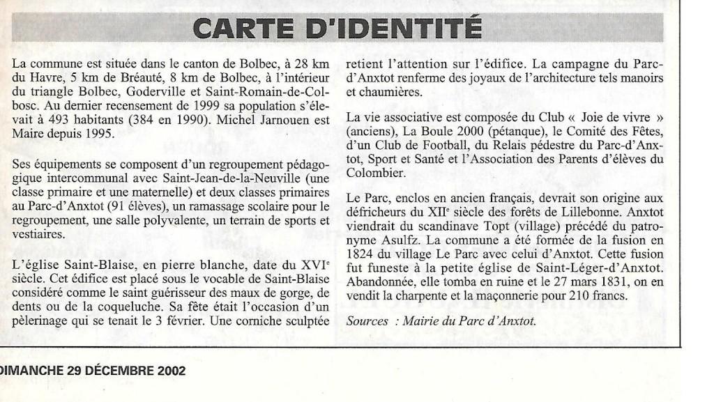 Histoire des communes - Parc-d'Anxtot 231