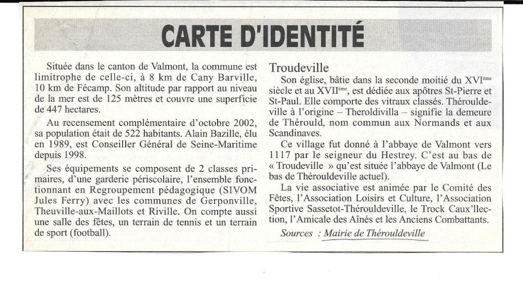 Histoire des communes - Thérouldeville 233