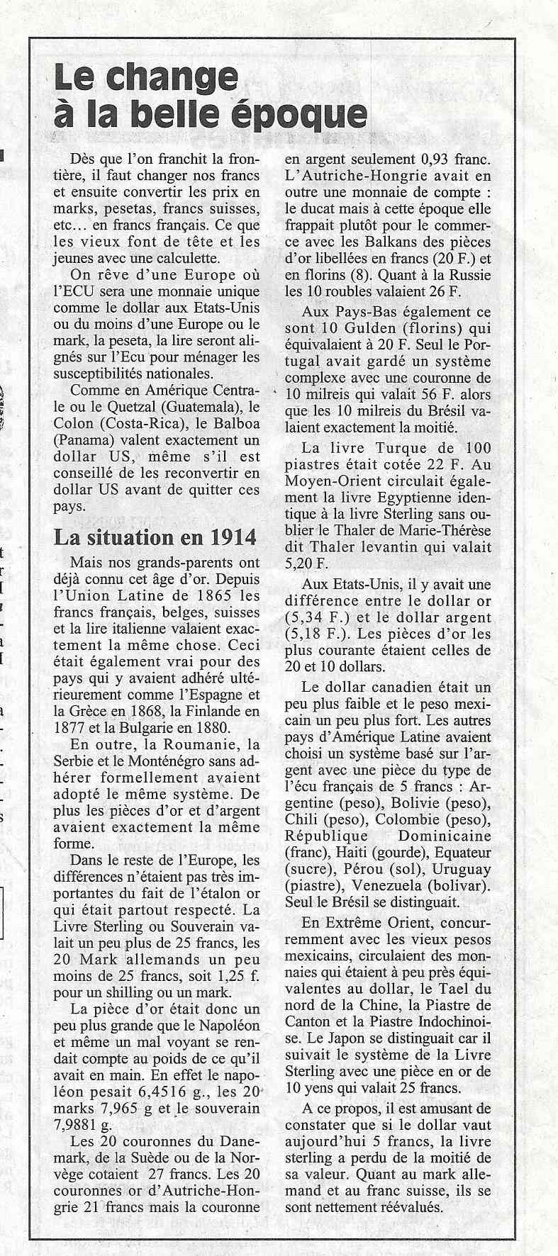 Havre - Histoire de la Monnaie 241