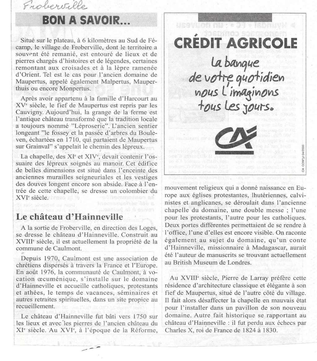 Histoire des communes - Froberville 245