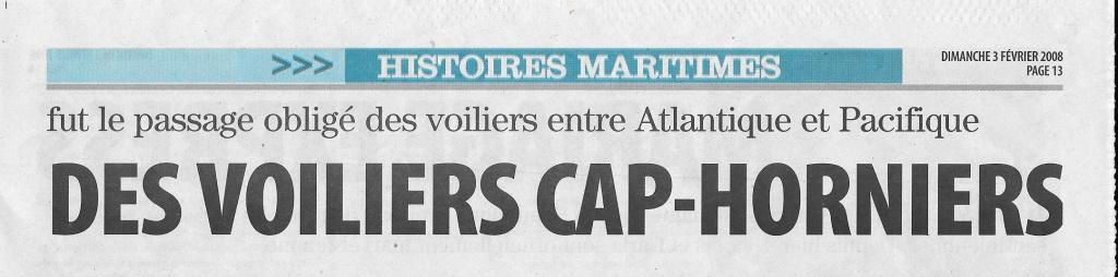 Histoire de bateaux - Les Cap-Horniers 273