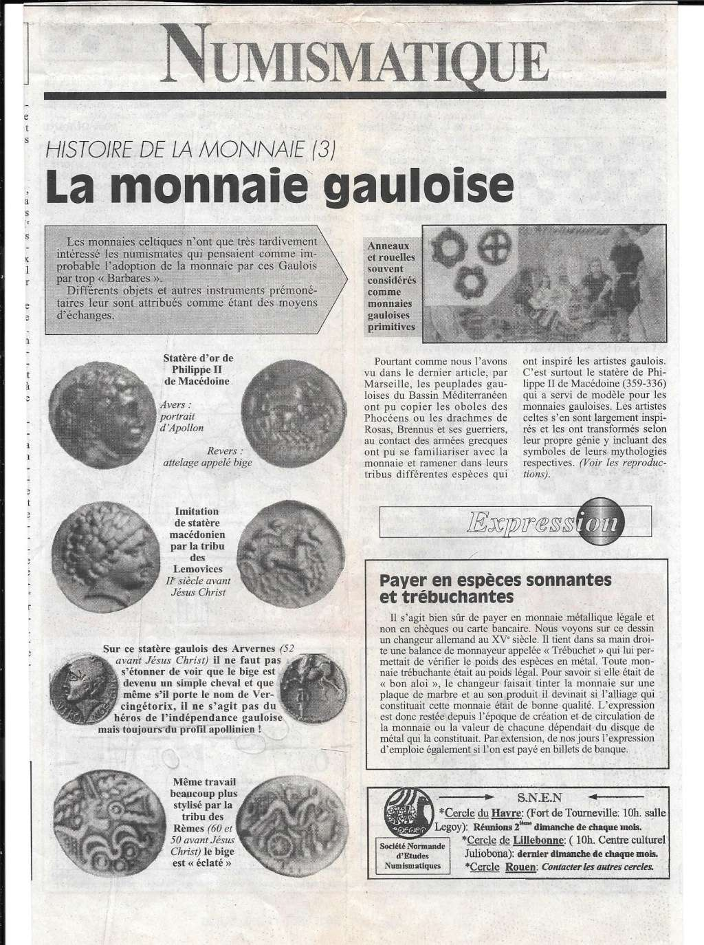 Havre - Histoire de la Monnaie 317