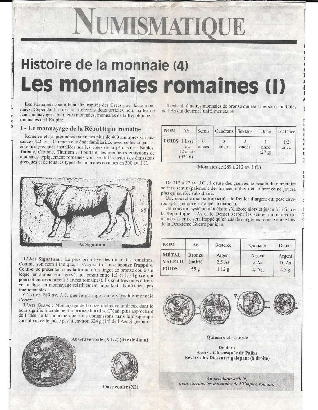 Havre - Histoire de la Monnaie 417