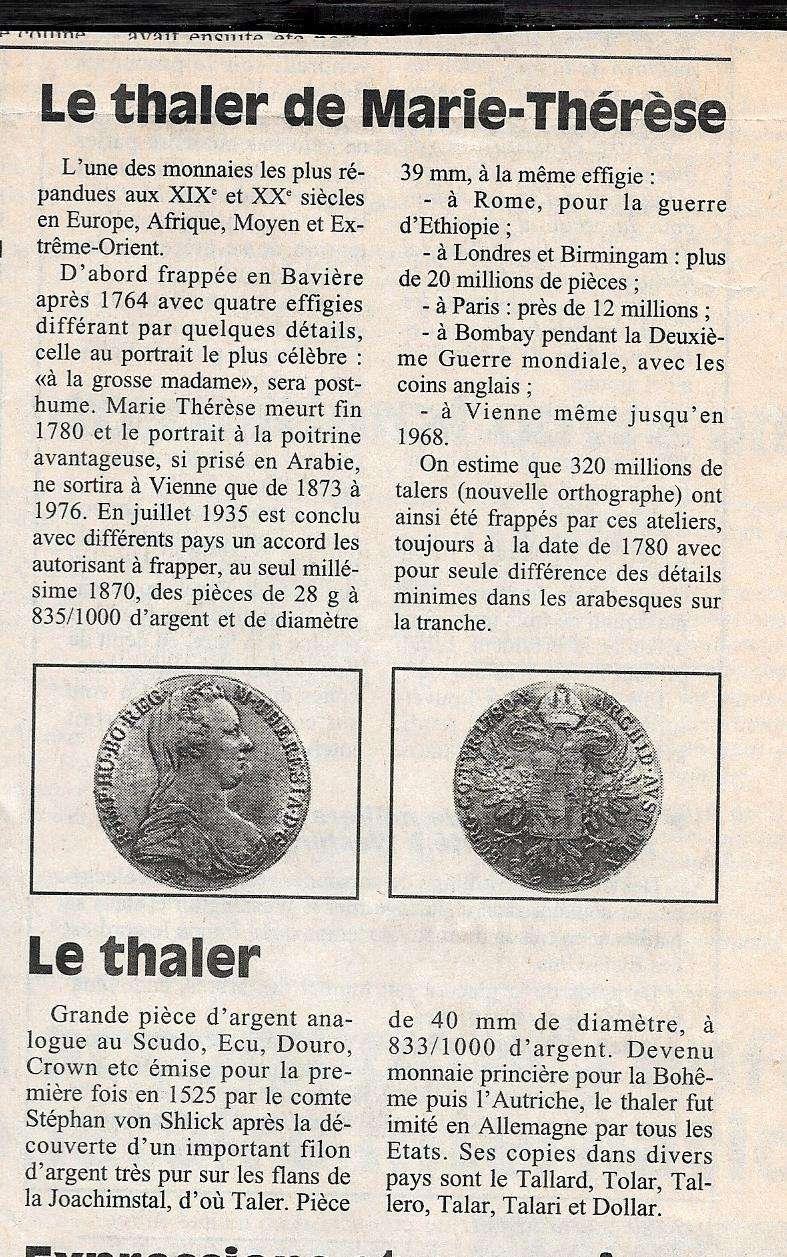 Havre - Histoire de la Monnaie 419