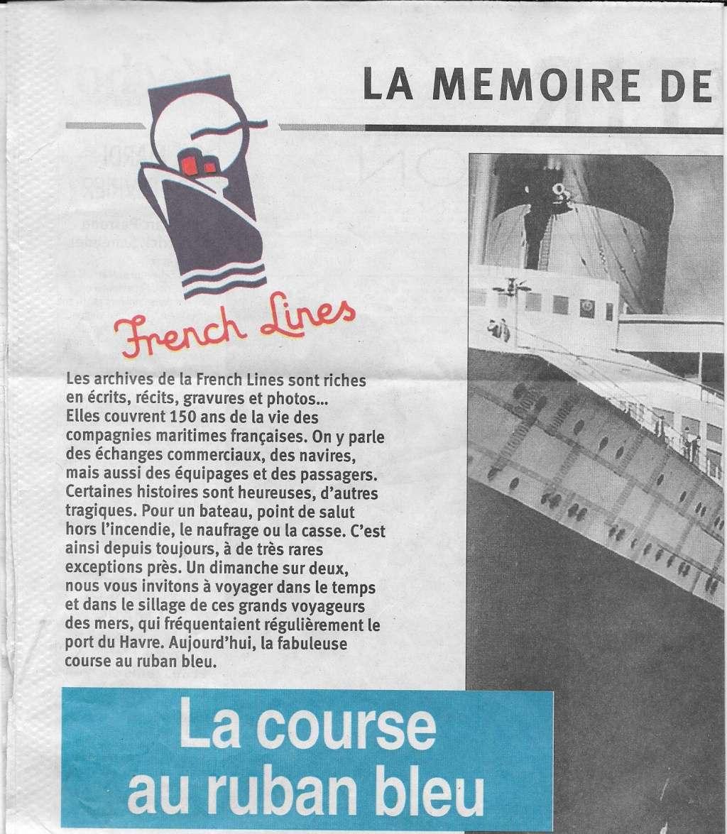 Histoire de bateaux - Le Ruban Bleu 434