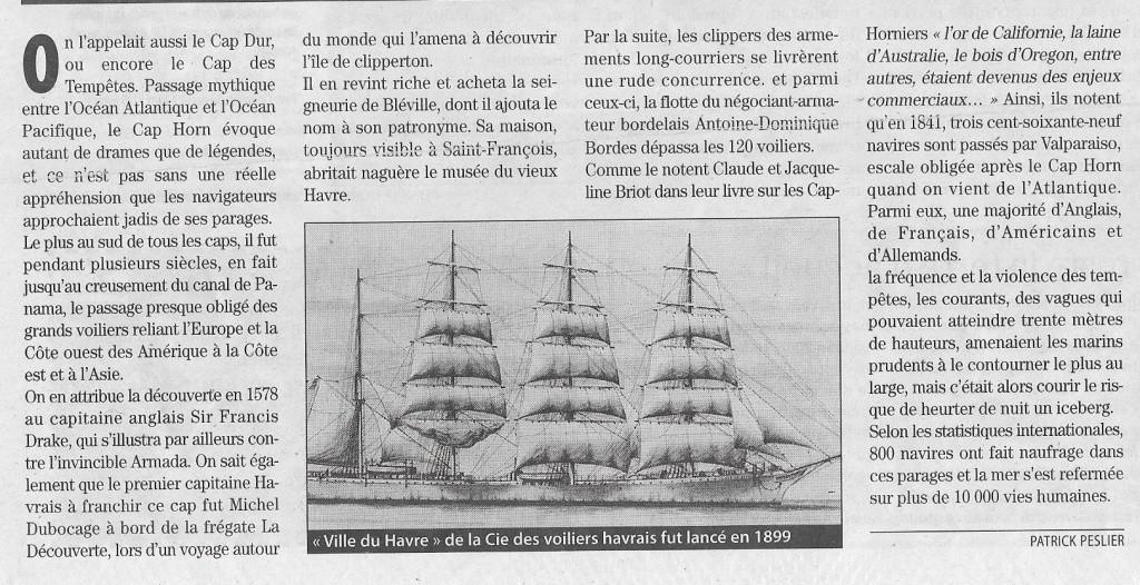 Histoire de bateaux - Les Cap-Horniers 436