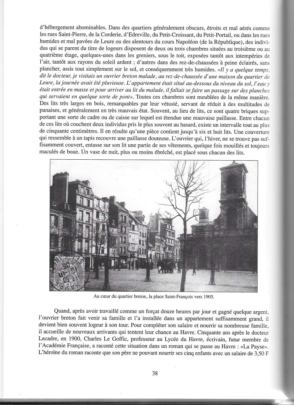 bléville - Hier, Le Havre par Jean LEGOY - Page 4 611