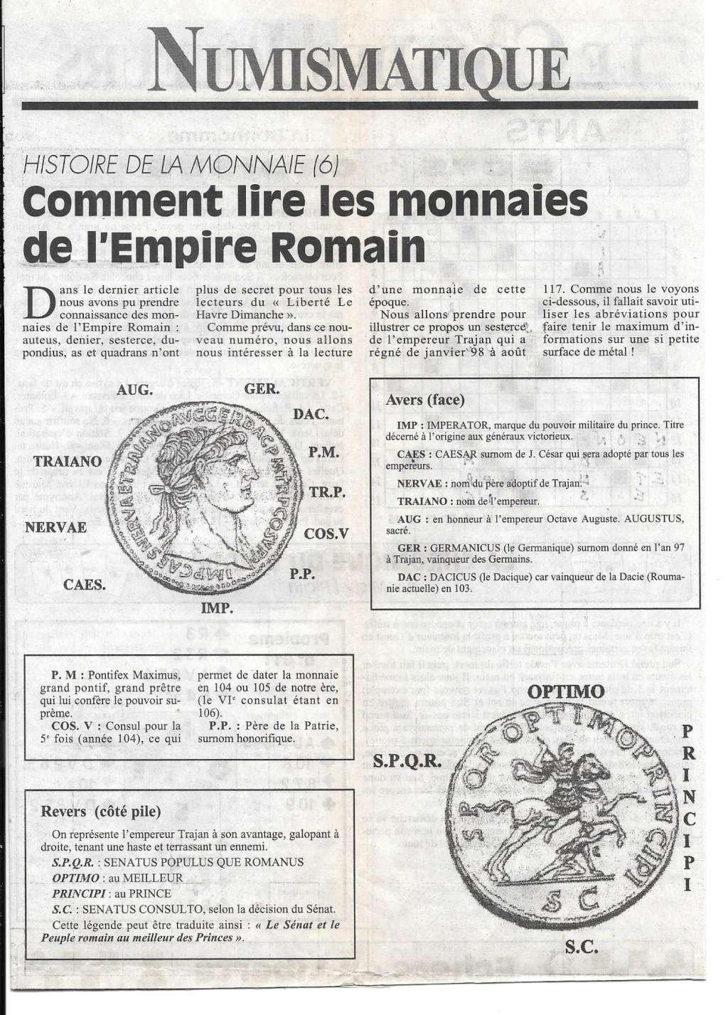 Havre - Histoire de la Monnaie 613