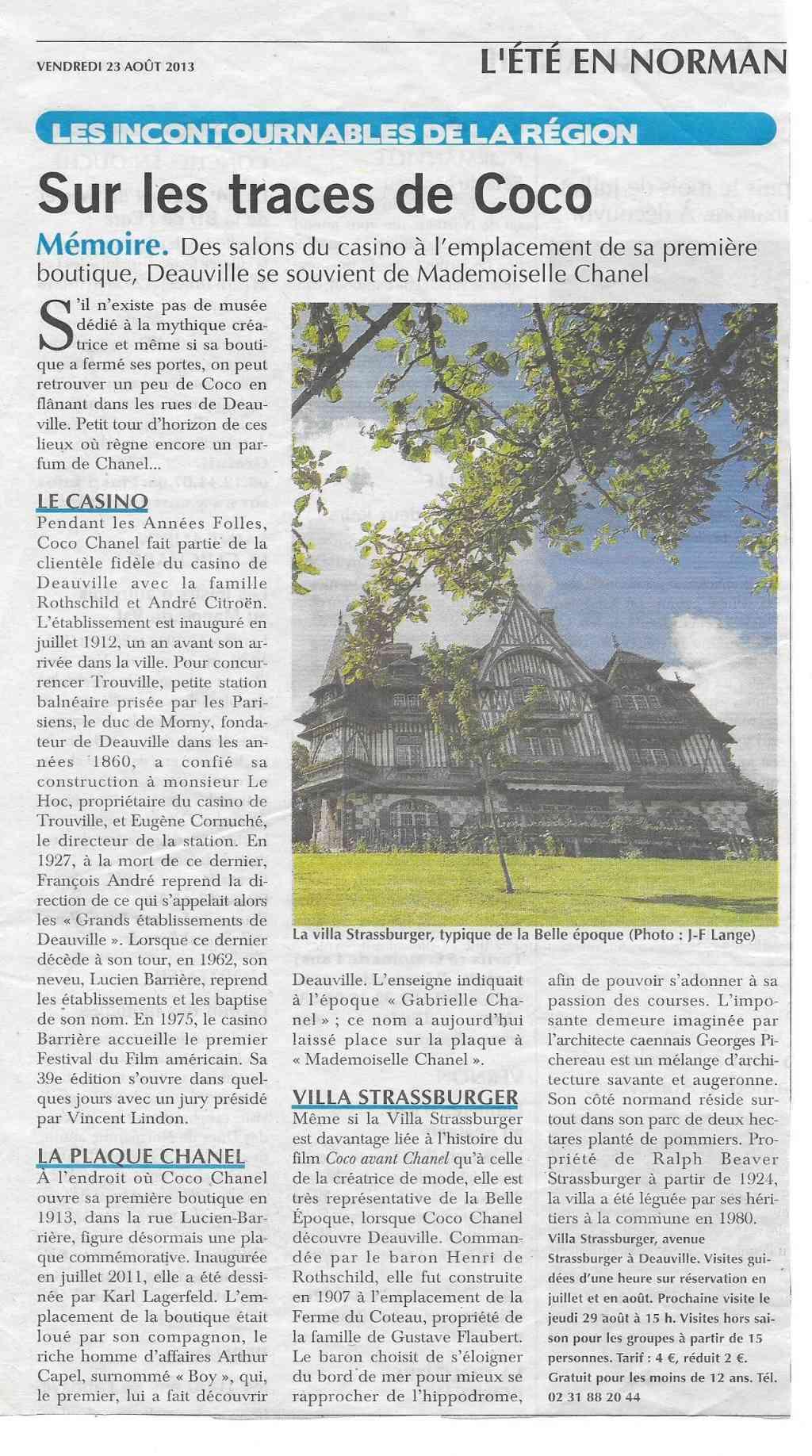 Histoire des communes - Deauville 623
