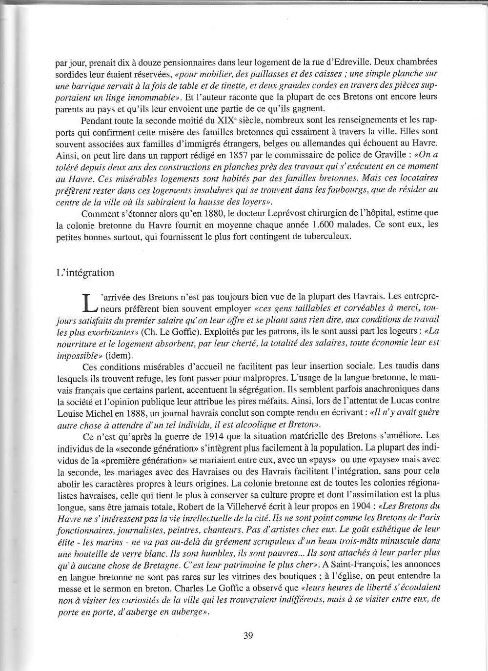 bléville - Hier, Le Havre par Jean LEGOY - Page 4 711