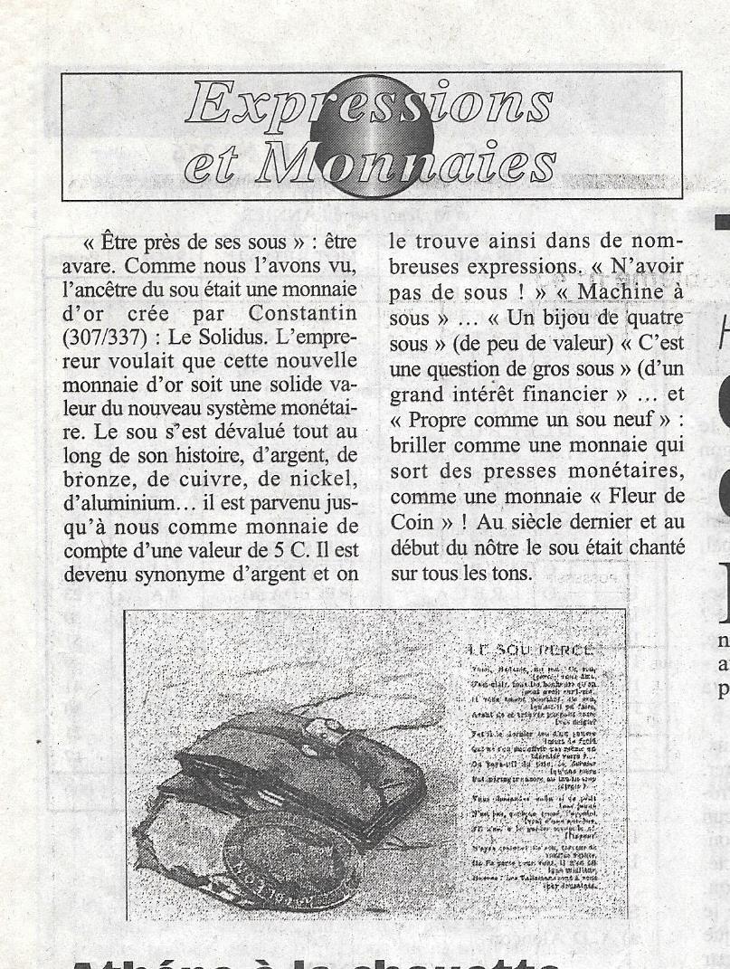 Havre - Histoire de la Monnaie 717