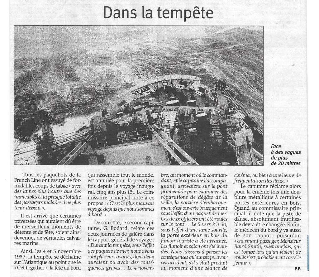 Histoire de bateaux - Le Flandre 720