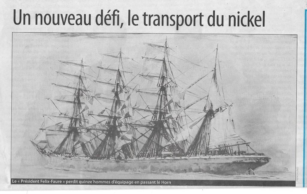 Histoire de bateaux - Les Cap-Horniers 722
