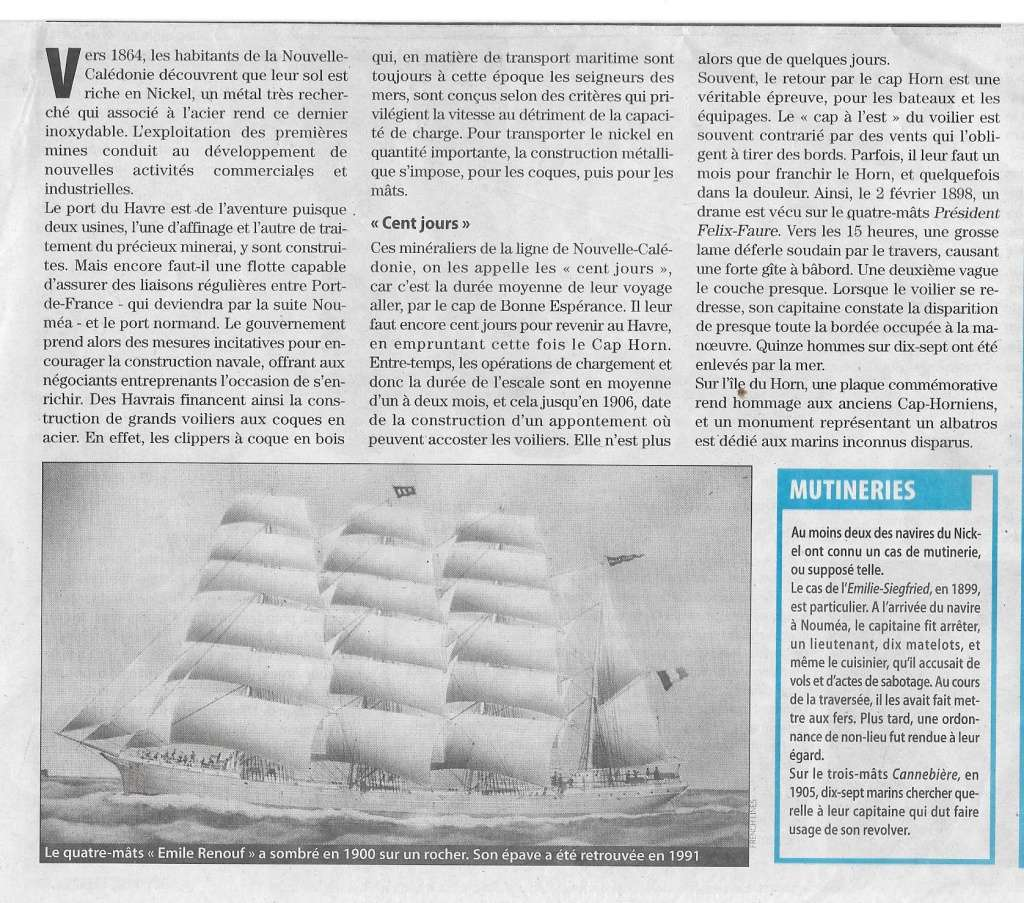 Histoire de bateaux - Les Cap-Horniers 819
