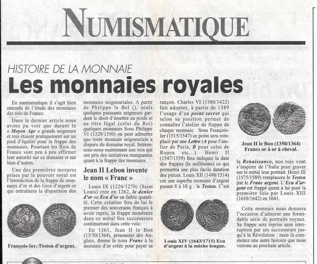 Havre - Histoire de la Monnaie 9-110