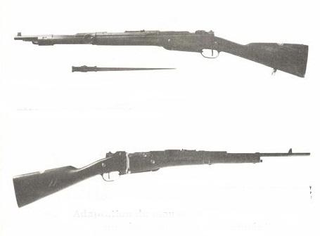 Prototypes de fusils - Programme de 1927.  Malin_10