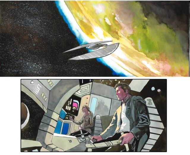 Les Anciens Astronautes - roman graphique de Fantasy en souscription  - Page 2 Previe10