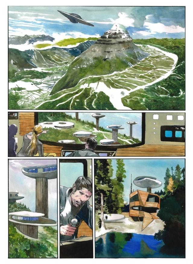 Les Anciens Astronautes - roman graphique de Fantasy en souscription  - Page 2 Scan0510