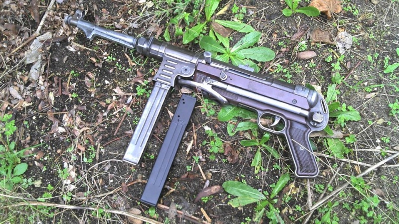 Réplique airsoft disparue lors du GN Mp40la10