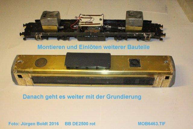 Das dritte Projekt 2014 - Die Henschel-BBC DE2500 Lok in 0 - Seite 3 Mob64611