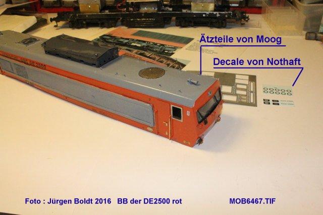 Das dritte Projekt 2014 - Die Henschel-BBC DE2500 Lok in 0 - Seite 3 Mob64613