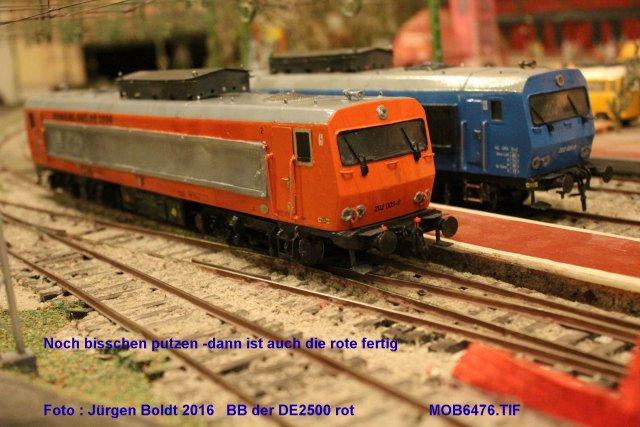 Das dritte Projekt 2014 - Die Henschel-BBC DE2500 Lok in 0 - Seite 3 Mob64711
