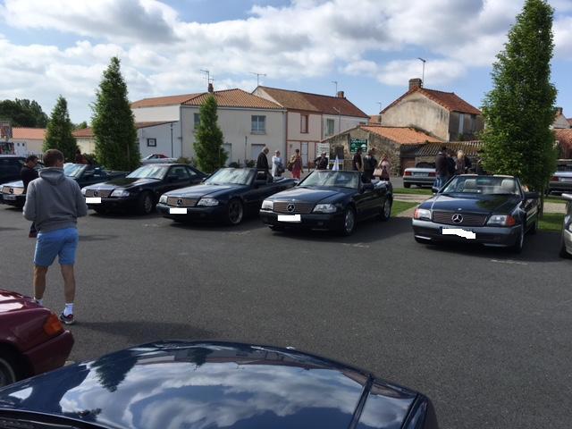 Rassemblement Mercedes SL 129 aux Sables d'Olonnes w-e de la Pentecôte Img_0322
