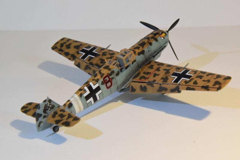 Messerschmitt Bf 109E-7/Trop - Airfix - 1/72 06112