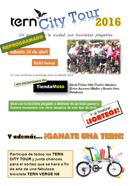 TERN CITY TOUR desde TIENDAMOTO - REPROGRAMADO 23/04 Flyer13