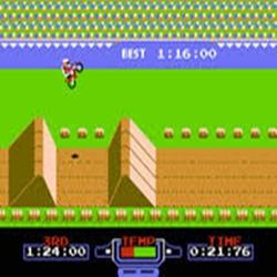 Excitebike ( nes/arcade ) 110