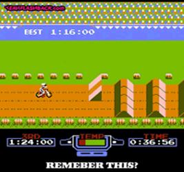 Excitebike ( nes/arcade ) 310